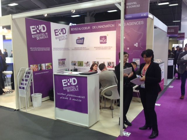 Franchise Essentiel et Domicile salon Franchise Expo Paris