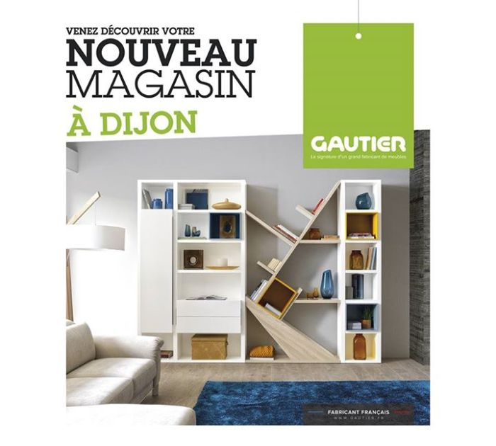 aprs valence le rseau gautier inaugure son magasin de dijon. Black Bedroom Furniture Sets. Home Design Ideas