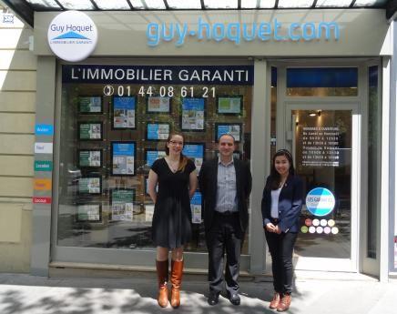 Une 21e agence guy hoquet l immobilier paris for Agence immobiliere guy hoquet