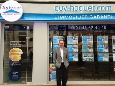 Ouverture d une agence immobili re guy hoquet dans le 15e for Agence immobiliere guy hoquet