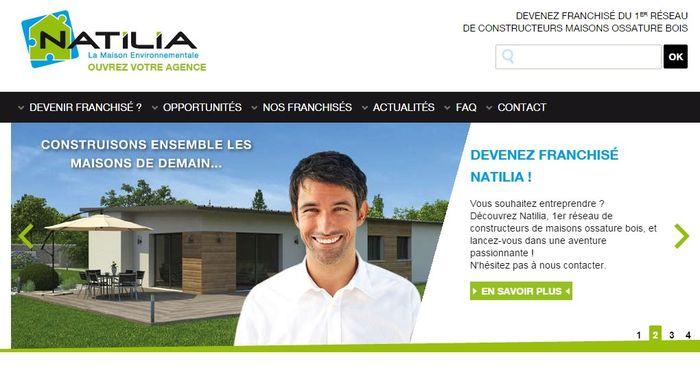Natilia lance un site pour devenir constructeur de maisons for Site constructeur