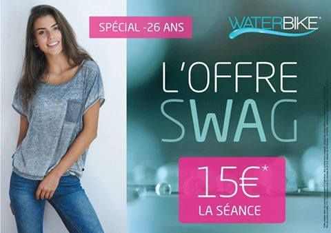 Franchise WATERBIKE offre SWAG