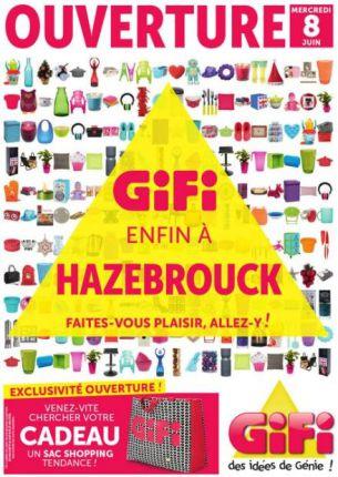 gifi inaugure son magasin de hazebrouck. Black Bedroom Furniture Sets. Home Design Ideas