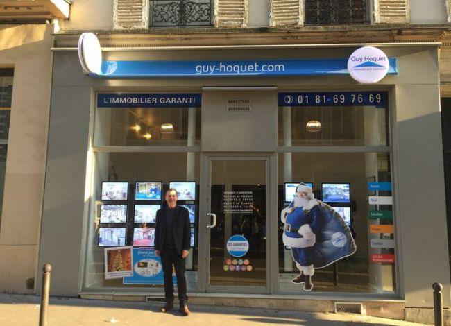 Guy hoquet l 39 immobilier accueille sa 27e agence parisienne for Agence immobiliere 6eme arrondissement paris