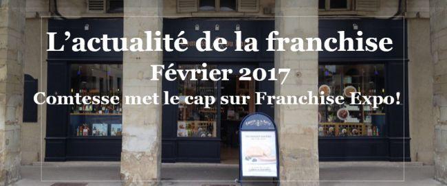 Le r seau comtesse du barry exposera au salon franchise for Salon franchise 2017