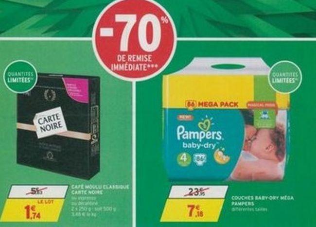 Aprs nutella intermarch met le paquet sur les couches - Combien coute un paquet de couche pampers ...