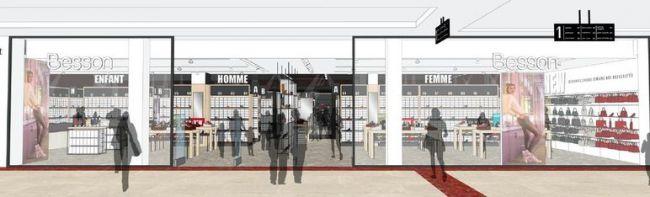Lyon Part Dieu : le nouveau concept Shoes Room Besson