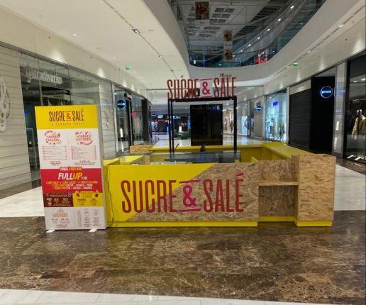Sucre Sale Investit Le Centre Commercial Carre Senart En Seine