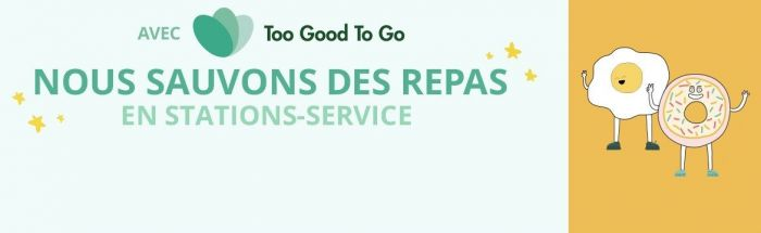 Total s'engage contre le gaspillage alimentaire avec Too Good To Go