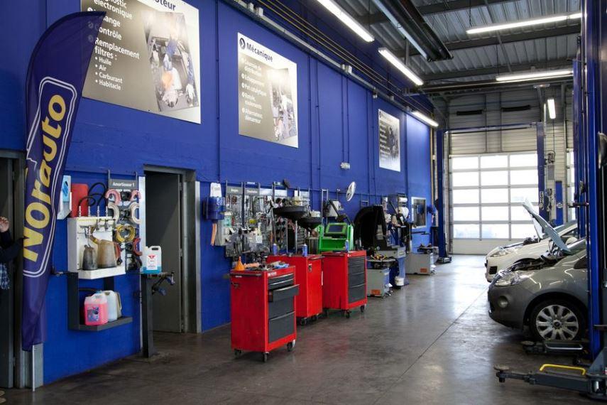 Franchise norauto dans franchise garage centre auto for Franchise garage mecanique