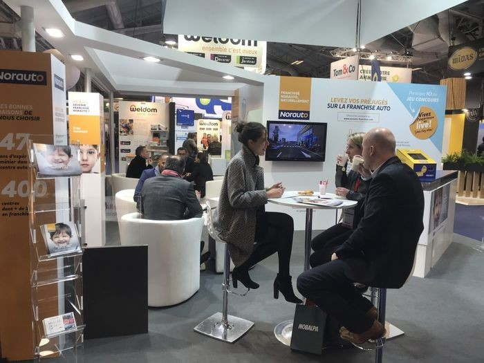 Stand Norauto Franchise Expo Paris 2019