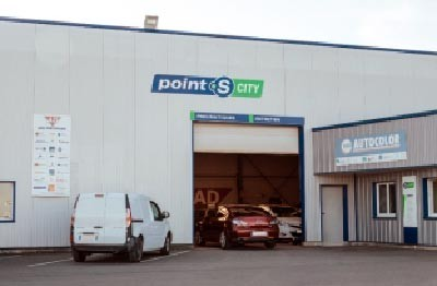 Nouveau centre auto Point S City de Pluduno