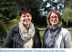 Nouvelles franchisées associées Axeo Services en Vendée
