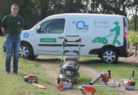 Micro franchise o2 care services deux nouveaux for Service jardinier