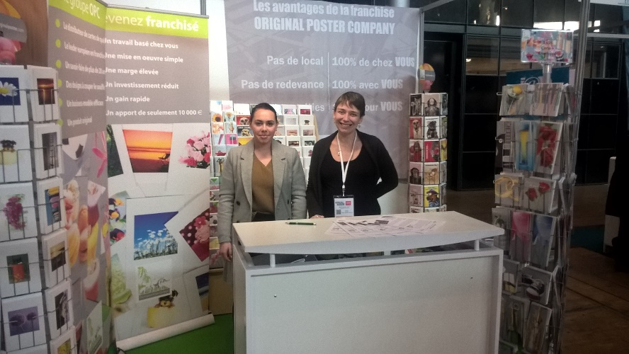 Original poster company satisfait de sa participation au for Stand salon original