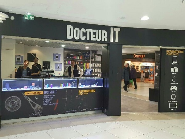 boutique docteur it en galerie marchande
