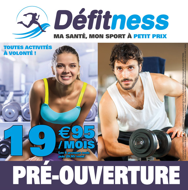 accompagnement ouverture salle de fitness defitness