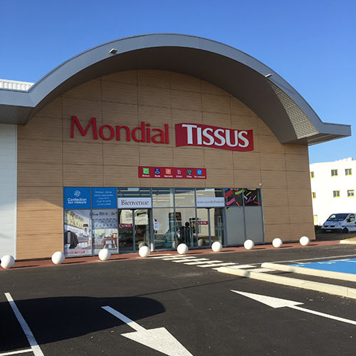 magasin franchisé mondial tissus