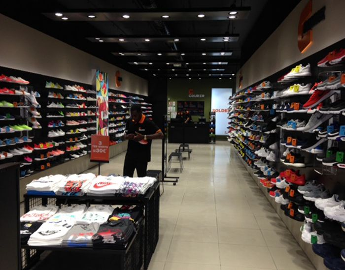 basket new balance magasin courir
