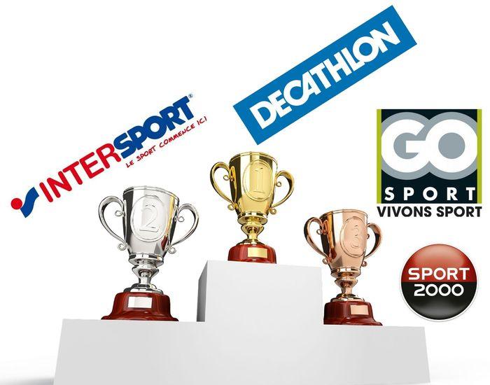 80b1992632 Decathlon, Intersport, Go Sport et Sport 2000 dominent le marché des ...