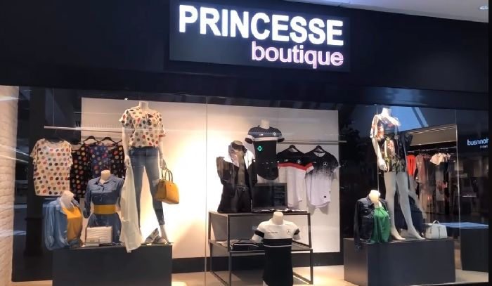Franchise Princesse Boutique prêt à porter