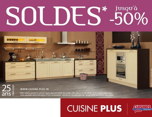 franchise cuisine les soldes d 39 t cuisines plus. Black Bedroom Furniture Sets. Home Design Ideas