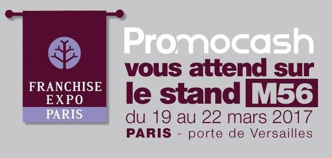 Promocash prsente ses opportunits franchise expo paris for Salon de la franchise paris 2017