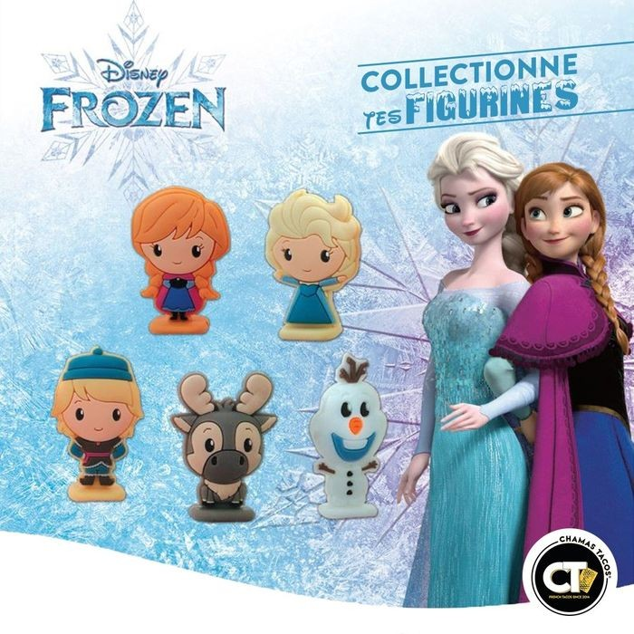 Figurines La Reine des Neiges 2 Chamas Tacos