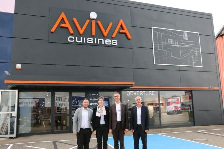 franchise aviva cuisines dans franchise cuisine. Black Bedroom Furniture Sets. Home Design Ideas