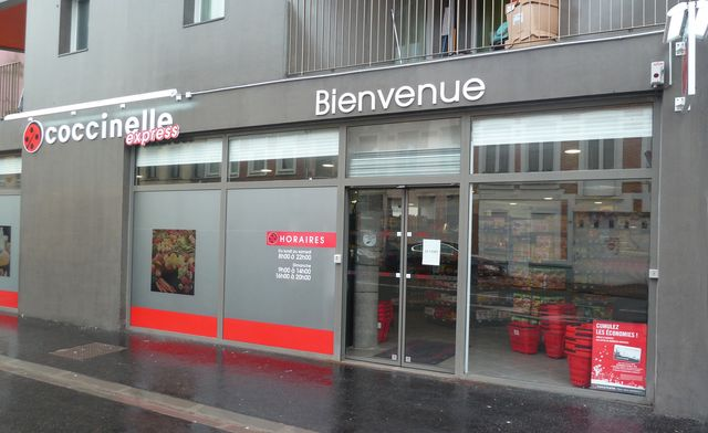 magasin coccinelle express