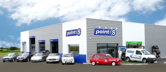 Franchise point s dans franchise garage centre auto for Garage auto france