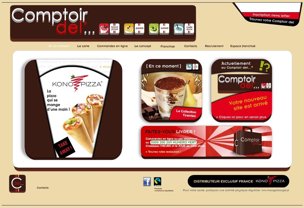 Franchise restauration nouveau site nouveau design du nouveau - Comptoir irlandais vente en ligne ...