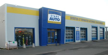 Franchise etape auto ouvrir une franchise garage centre for Ouvrir son garage auto