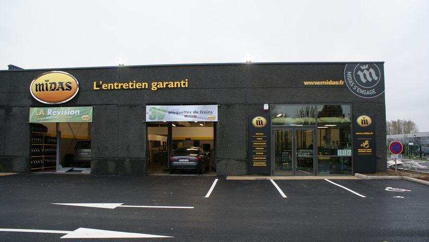Franchise midas dans franchise centre auto for Enseigne garage automobile