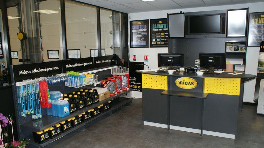 Franchise midas dans franchise garage centre auto for Garage sans franchise