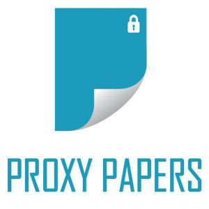 PROXY PAPERS