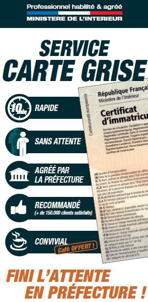 service des carte grise Franchise Carte grise cafe dans Franchise Services divers