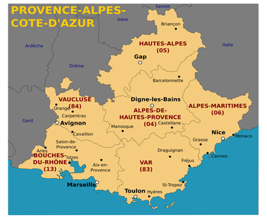 Alpes du sud d partement voyages cartes - Departement salon de provence ...