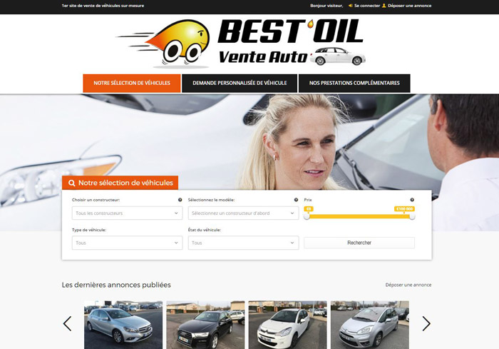 site web vente voitures best oil