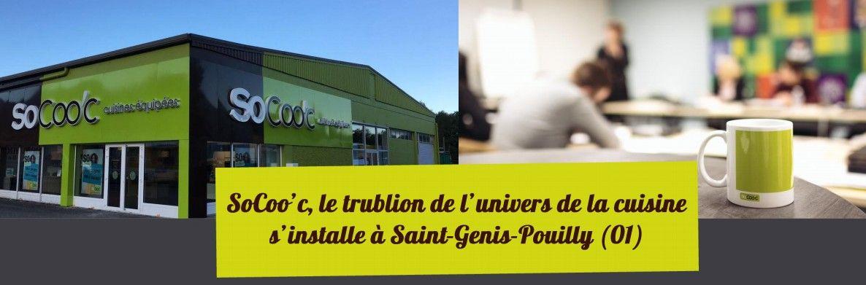 socoo c ouvre un nouveau magasin saint genis pouilly. Black Bedroom Furniture Sets. Home Design Ideas
