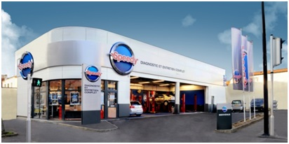 Franchise speedy dans franchise garage centre auto for Garage speedy nanterre
