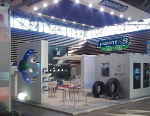 Stand Point S au salon Solutrans 2015