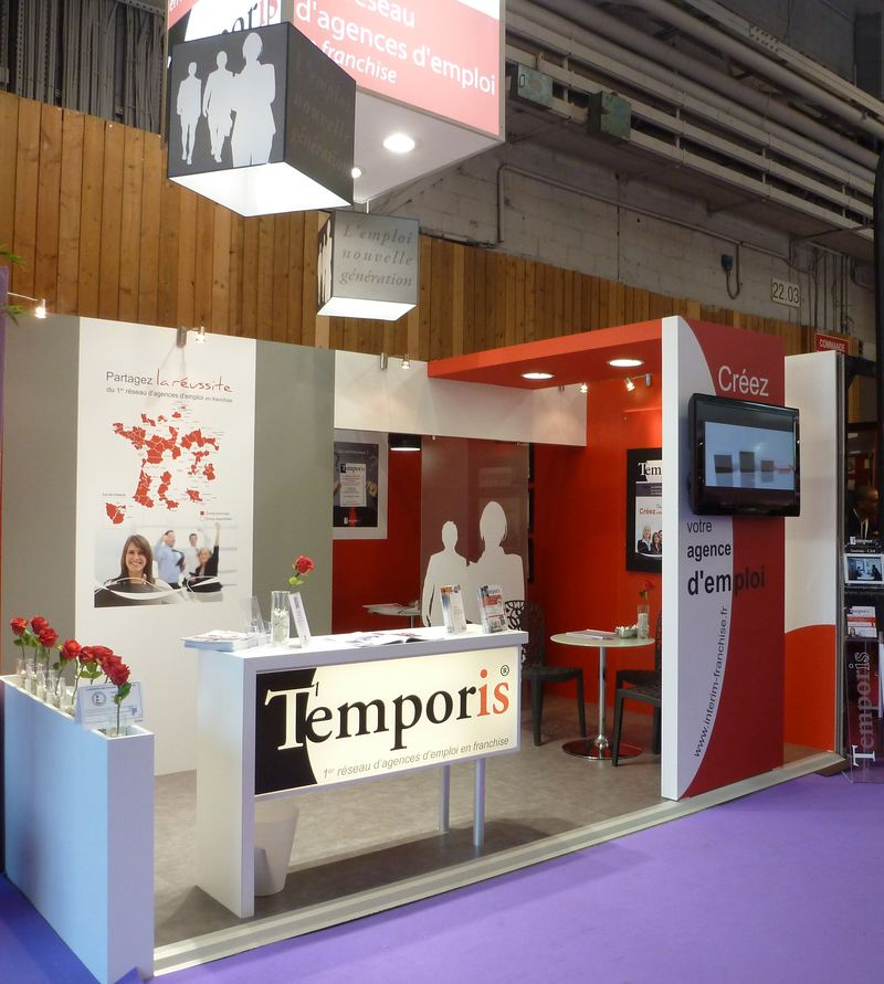Le rseau temporis vous accueille au salon franchise expo for Salon porte de versailles aujourd hui