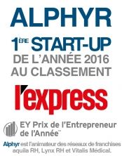 Alphyr start up de l'année L'Express/EY