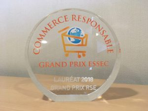 Trophée du Grand Prix Essec Commerce Responsable