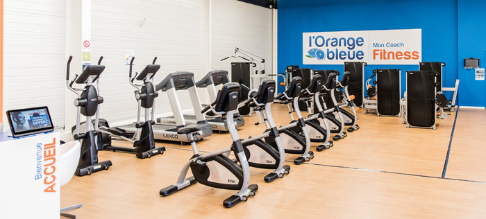 salle de fitness L'Orange bleue en franchise