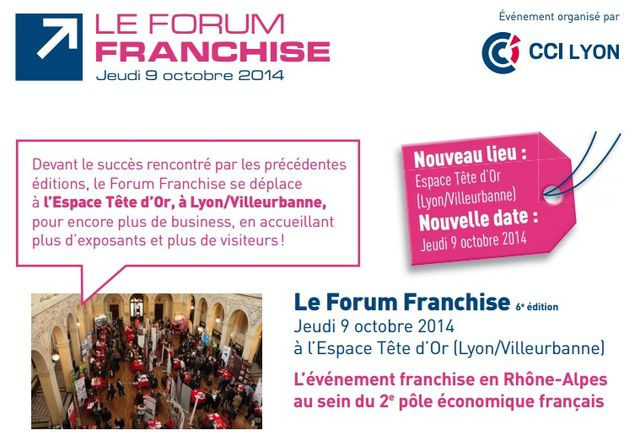 Forum Franchise Lyon 2014