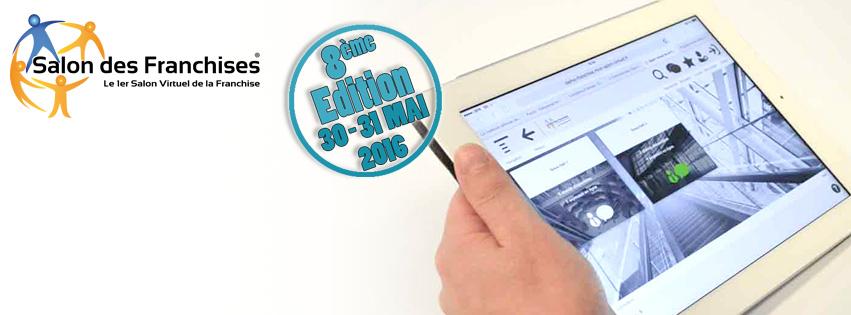 Ne manquez pas le 8e salon virtuel des franchises les 30 for Salon virtuel de la franchise