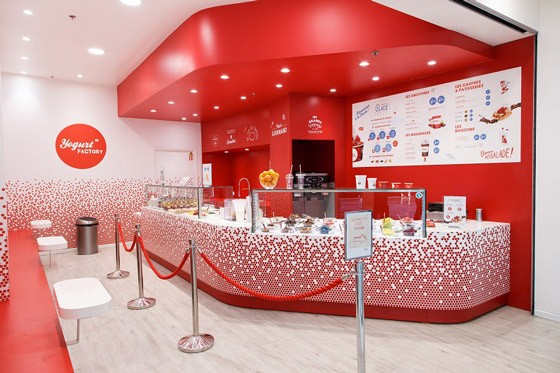 Yogurt Factory s'implante en Belgique